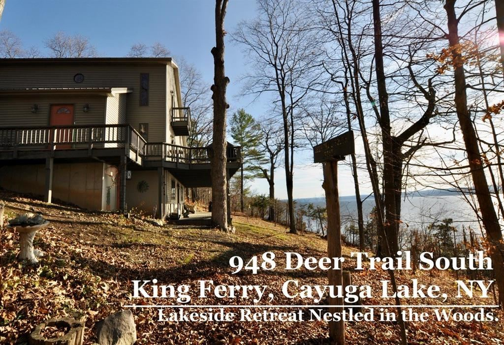 948 Deer Trail Road S, King Ferry, NY 13081 - MLS#: R1308936