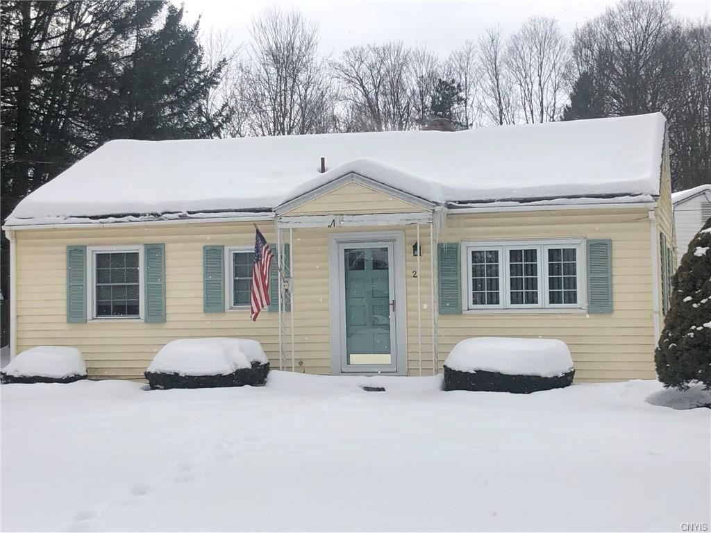 2 Pinecrest Road, New Hartford, NY 13413 - MLS#: S1318962
