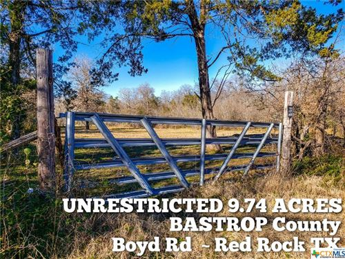 Photo of 9.74-ac Boyd Road, OTHER, TX 78662 (MLS # 443236)