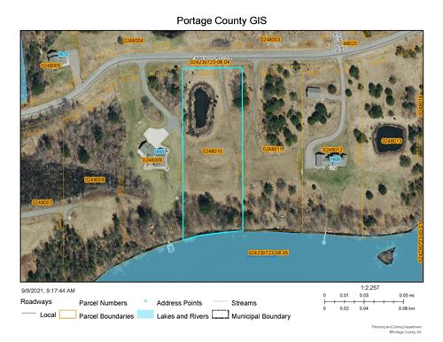 Photo of Lot 10 TIMBER SHORES DRIVE, Stevens Point, WI 54481 (MLS # 22105123)