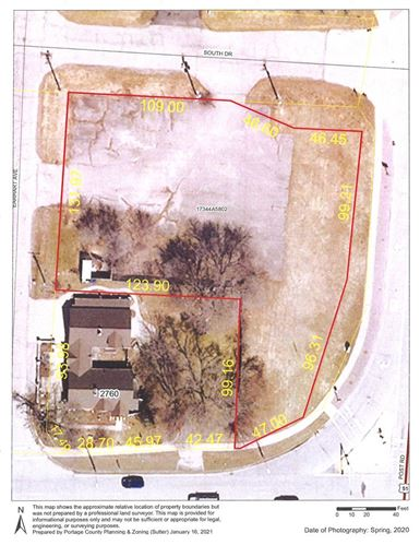 Photo of 2931 POST ROAD, Plover, WI 54467 (MLS # 22100659)