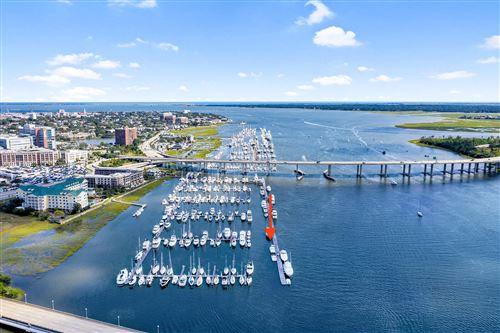 Photo of 33 Lockwood Drive #T-Dock Slip 13 (Lu22, Charleston, SC 29401 (MLS # 21028220)