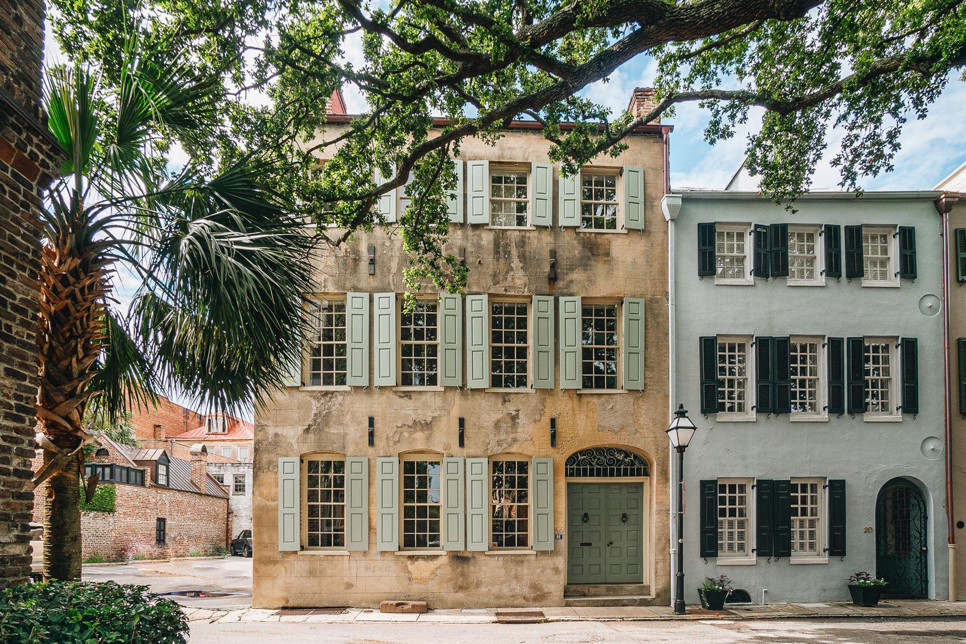 22 Elliott Street, Charleston, SC 29401 - #: 20003425