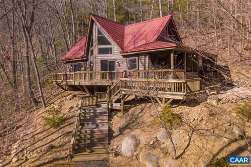 Photo of 12828 CRABTREE FALLS HWY, TYRO, VA 22976 (MLS # 600585)