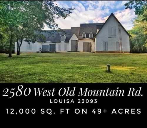 Photo of 2580 W OLD MOUNTAIN RD, LOUISA, VA 23093 (MLS # 593654)