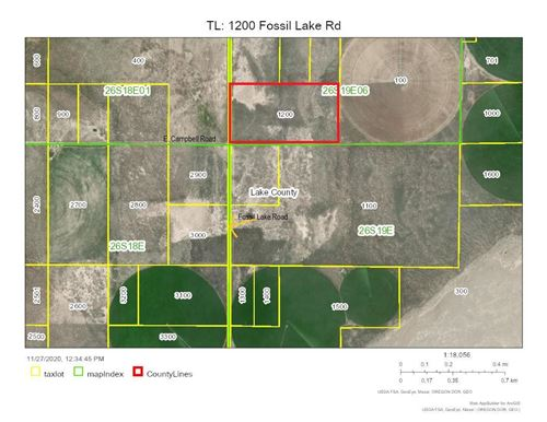 Photo of 1200 TL Fossil Lake Rd [26S19E06-00-01, Christmas Valley, OR 97641 (MLS # 220113100)