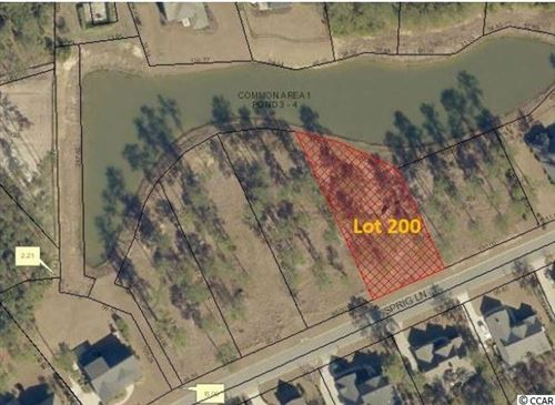Photo of Lot 200 Sprig Ln., Murrells Inlet, SC 29576 (MLS # 1911056)