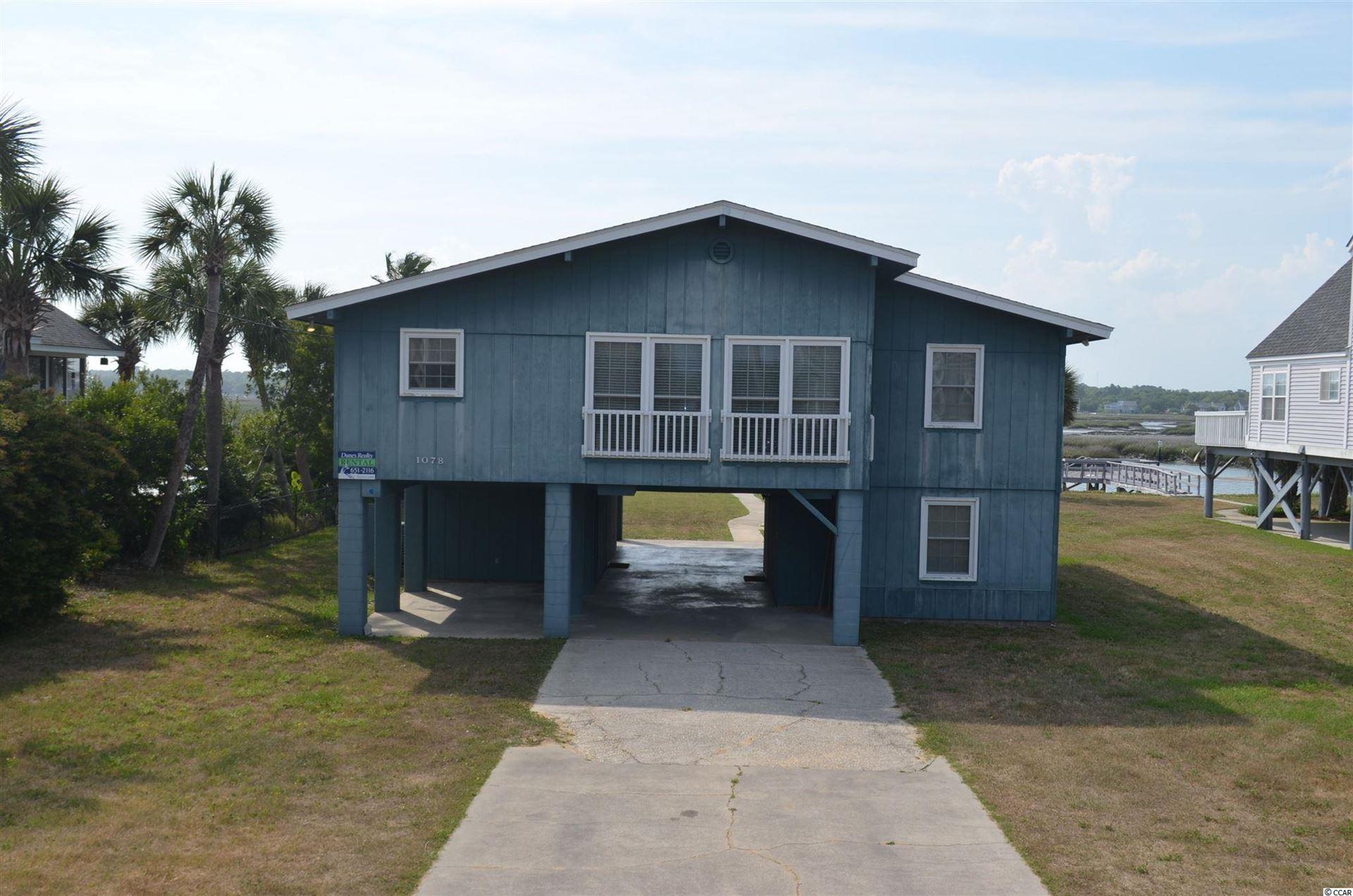 1078 S Waccamaw Dr., Garden City Beach, SC, 29576,  Home For Sale