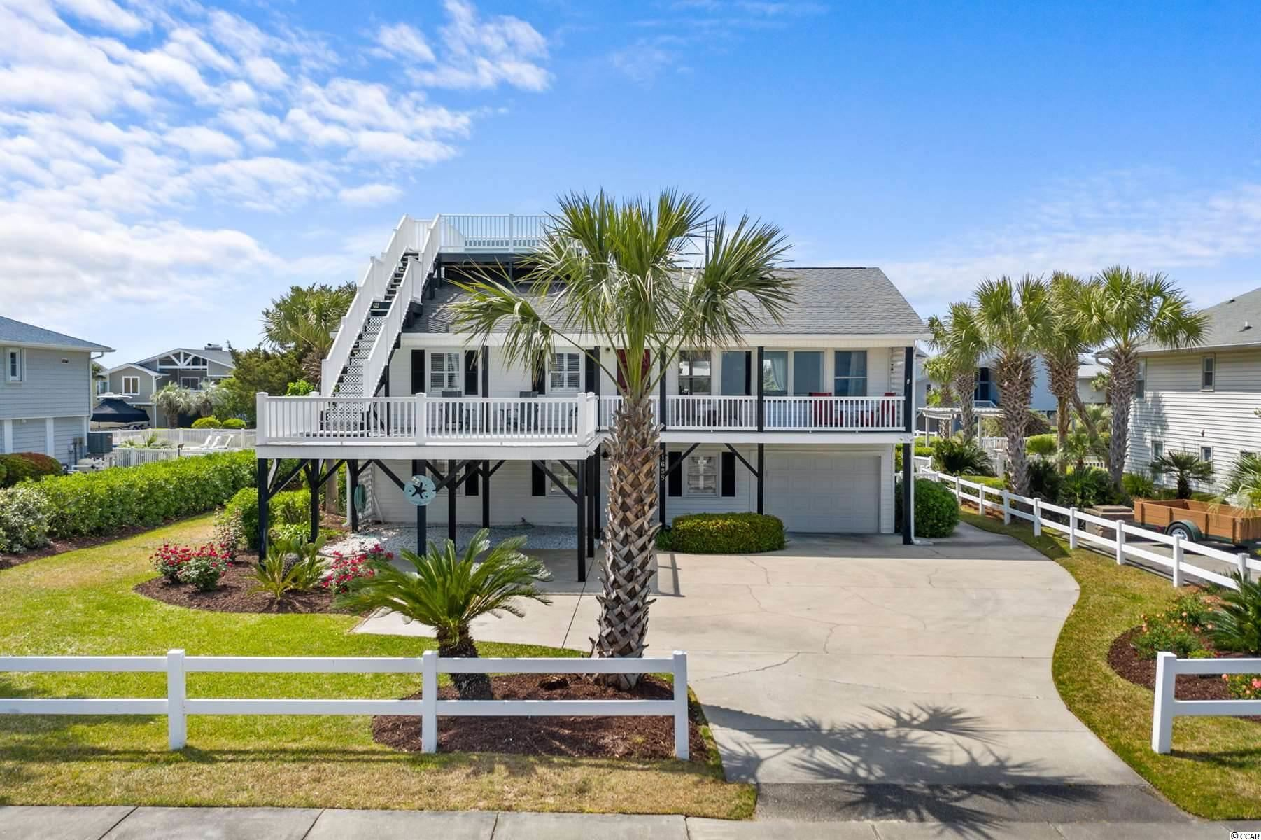 1658 S Waccamaw Dr., Murrells Inlet, SC, 29576, Gulf Stream Estates Home For Sale