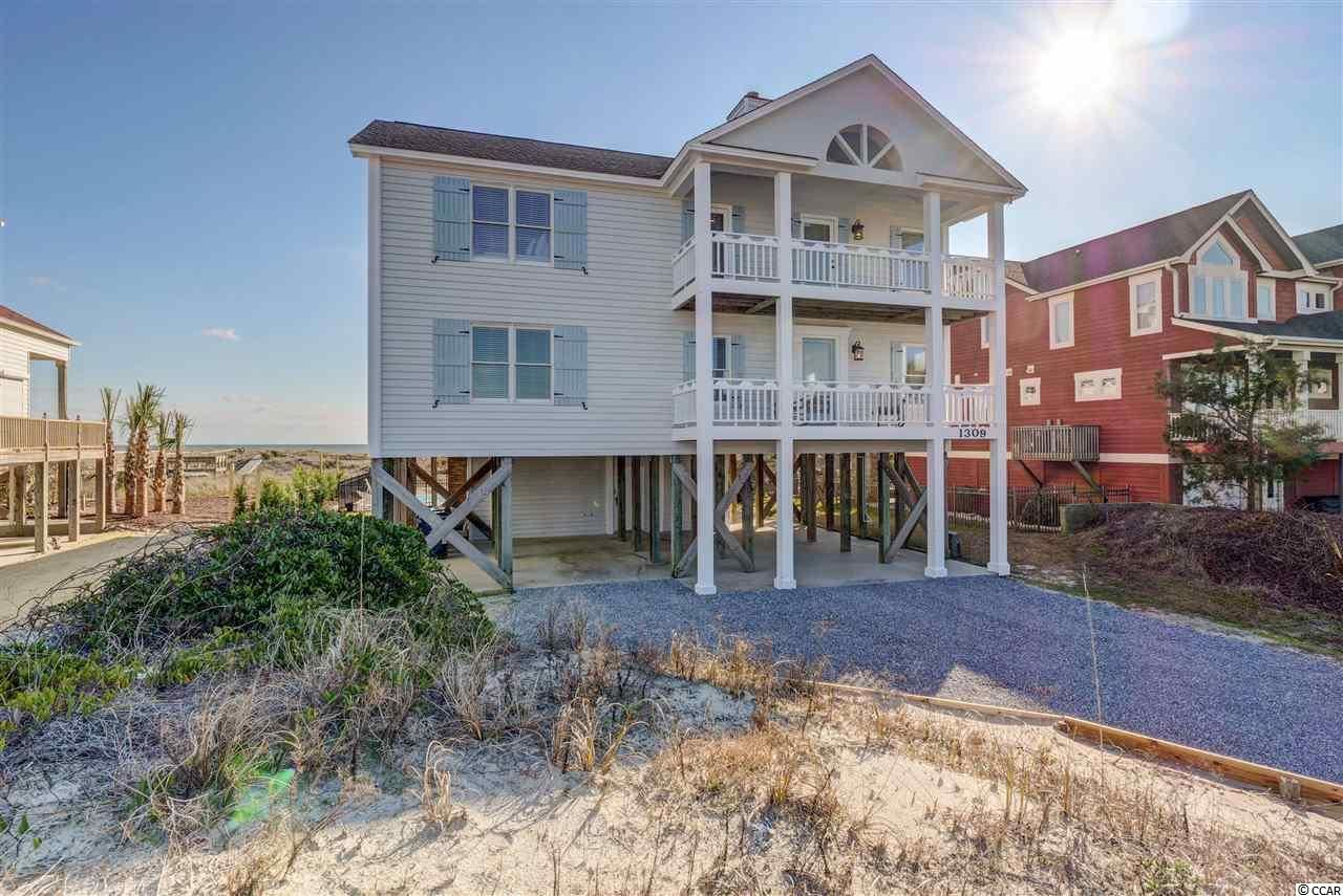 1309 Ocean Boulevard W, Holden Beach, NC, 28462, Holden Beach West Home For Sale