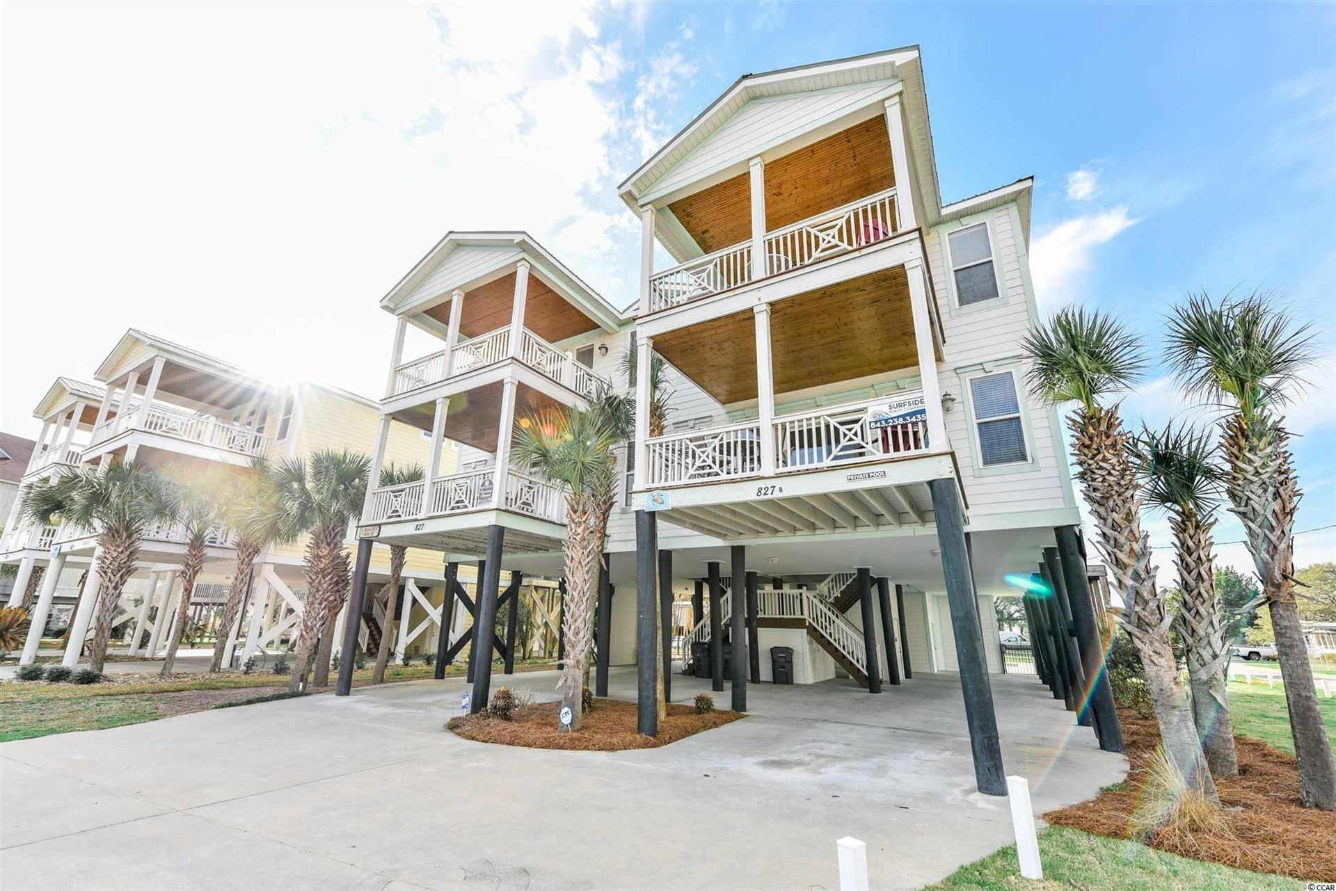 827 B North Waccamaw Dr., Garden City Beach, SC, 29575, Not within a Subdivision Home For Sale