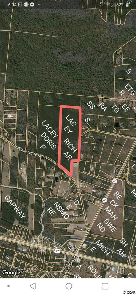 tbd Randall Rd., McClellanville, SC, 29458, Not within a Subdivision Home For Sale