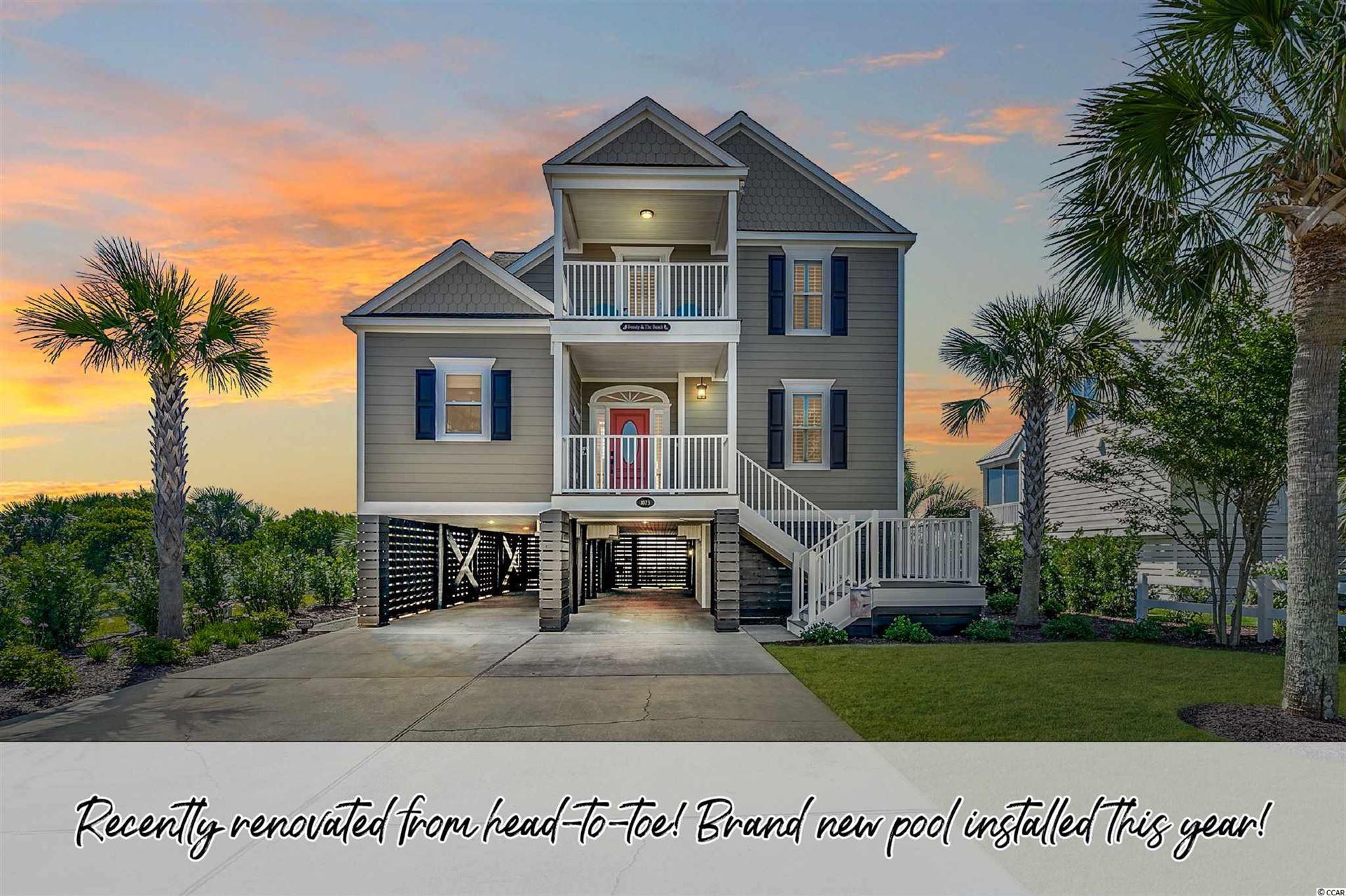 1073 S Waccamaw Dr., Garden City Beach, SC, 29576,  Home For Sale