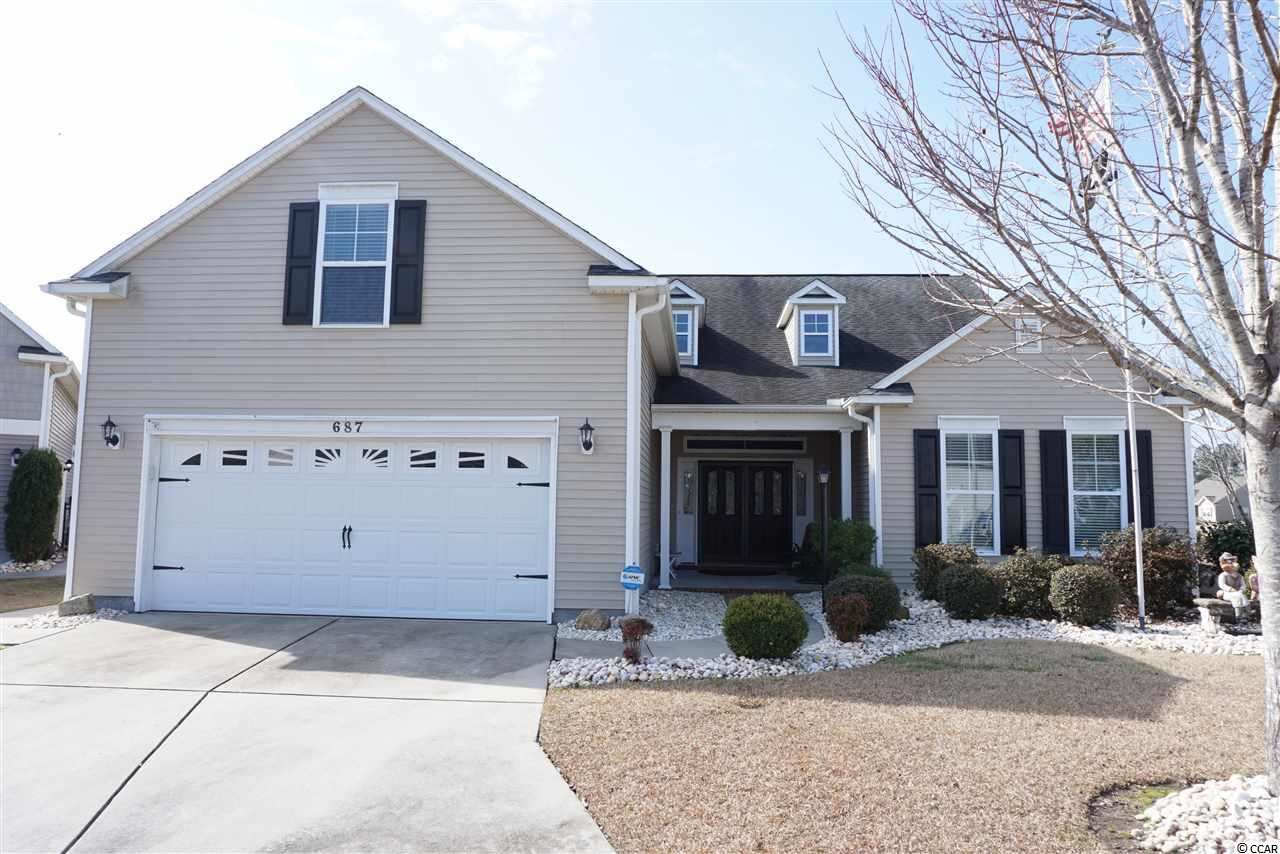 687 Bullrush Ct., Calabash, NC, 28467, Meadowlands Home For Sale