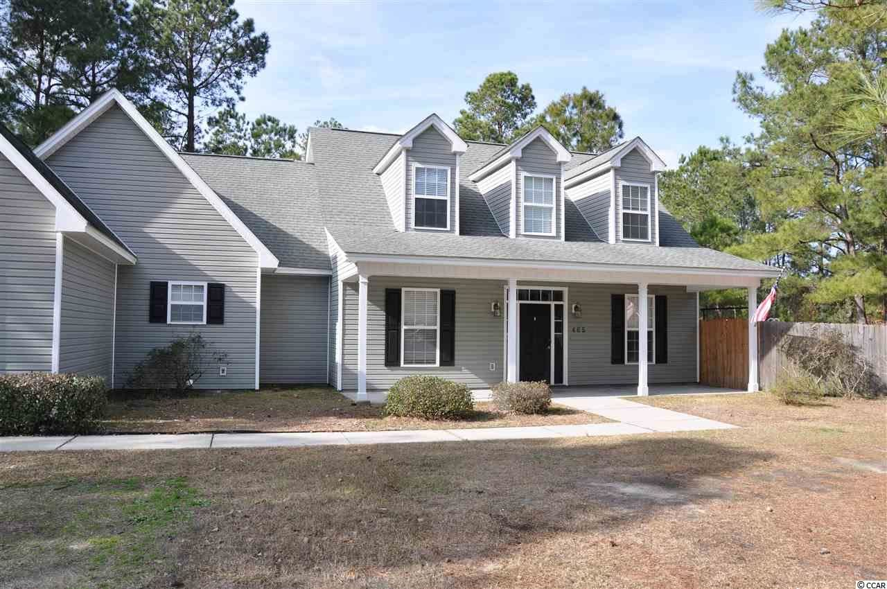 465 McNabb Short Cut Rd., Loris, SC, 29569, Not within a Subdivision Home For Sale
