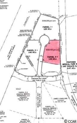 Parcel 3 Medical Park Way, Carolina Shores, NC, 28467, Not within a Subdivision Home For Sale