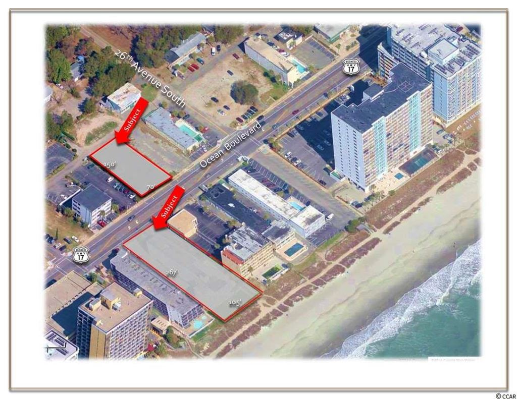 2609 S Ocean Blvd., Myrtle Beach, SC, 29577, Midway Section of Myrtle Beach Home For Sale