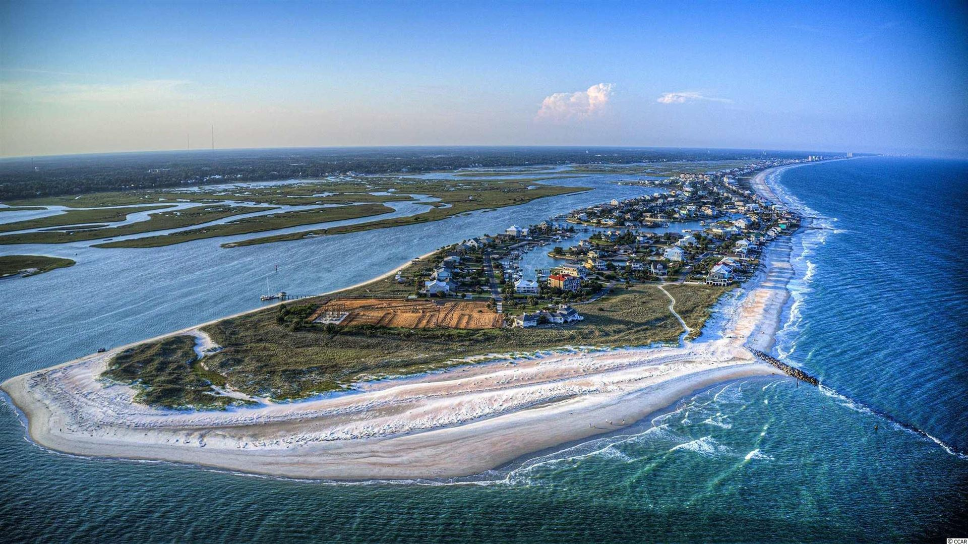 Lot Two S Waccamaw Dr., Garden City Beach, SC, 29576, The Bluffs (at Inlet Harbour) Home For Sale