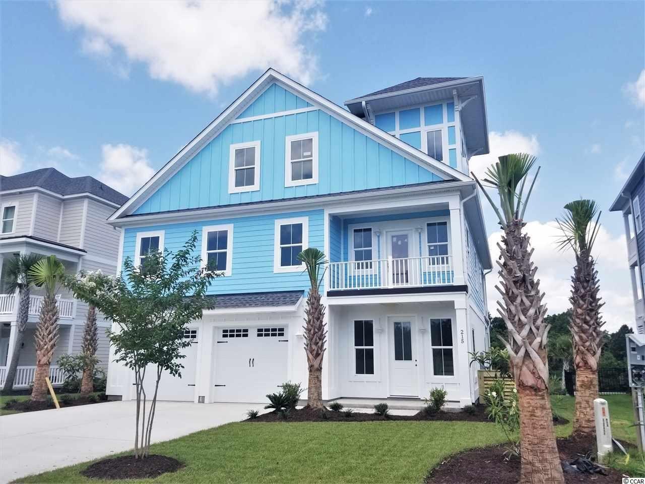 215 Palmetto Harbour Dr., North Myrtle Beach, SC, 29582, Palmetto Harbor Home For Sale