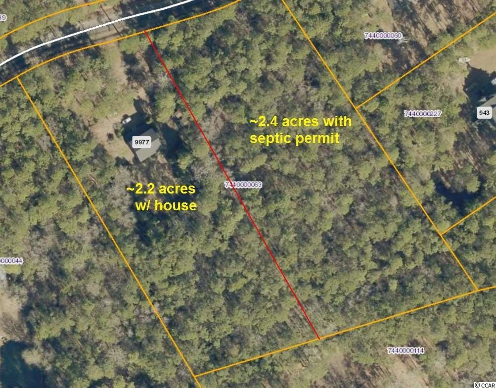 9977 Alert Rd., McClellanville, SC, 29458, Not within a Subdivision Home For Sale