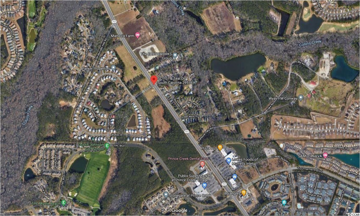 22.15 Acres Highway 707, Murrells Inlet, SC, 29576, Not within a Subdivision Home For Sale