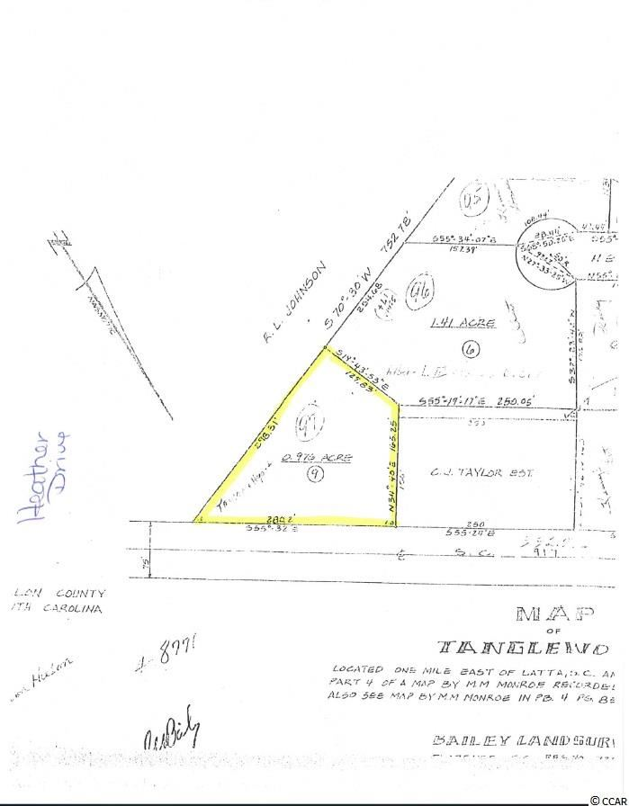 Lot 9 Heather Dr., Latta, SC, 29565, Not within a Subdivision Home For Sale