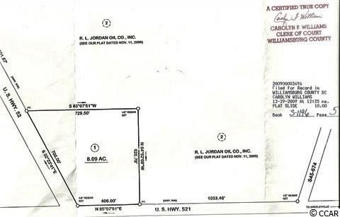 TBD Highway 521, Greeleyville, SC, 29056, Not within a Subdivision Home For Sale