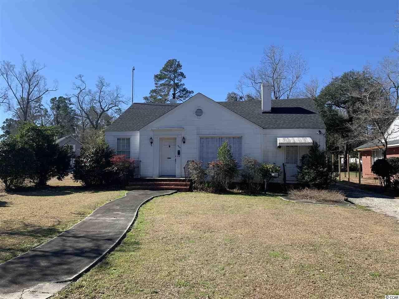 625 Green St., Kingstree, SC, 29556,  Home For Sale