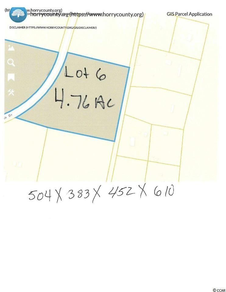 TBD North Dr., Nichols, SC, 29581, South Oaks Plantation Home For Sale
