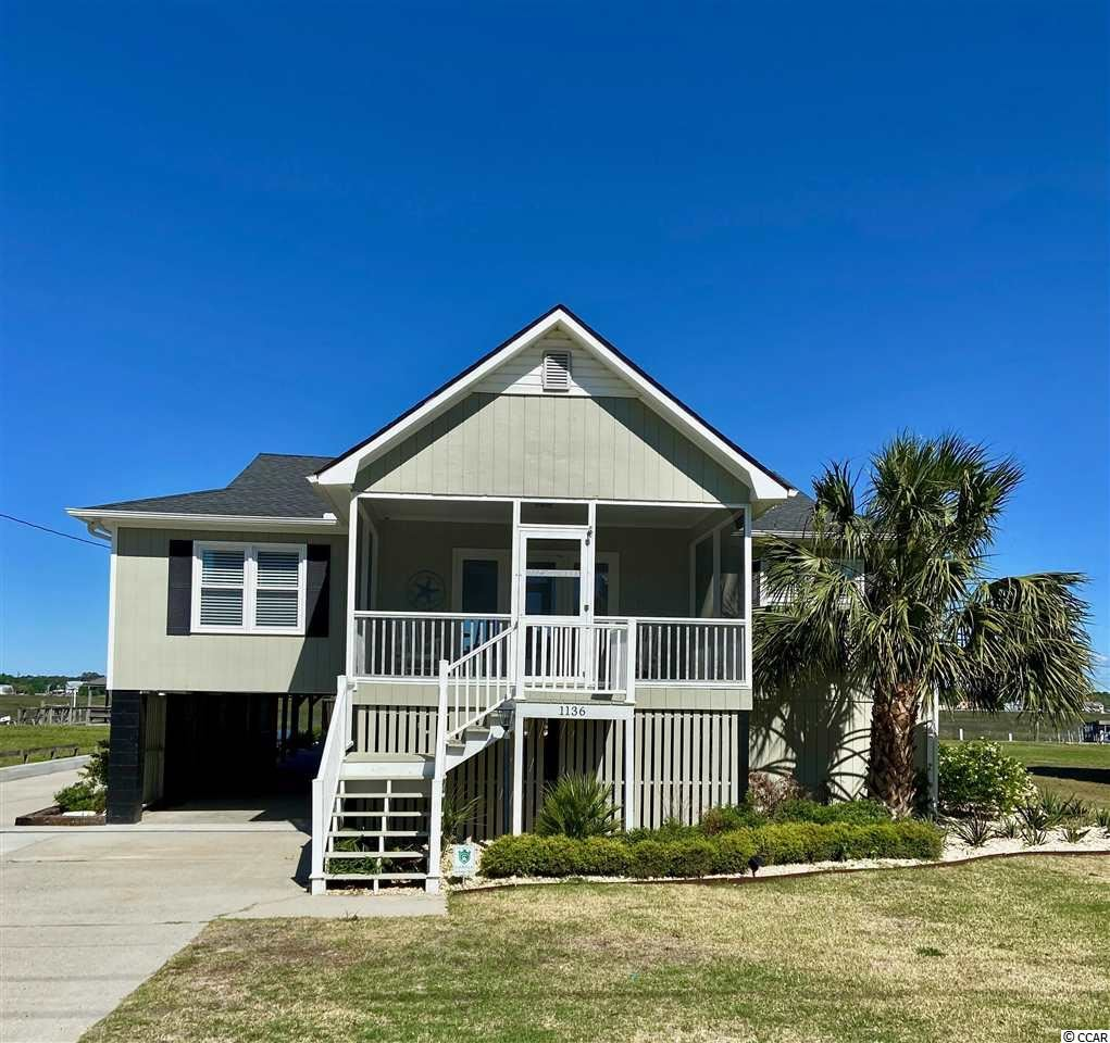 1136 Waccamaw Dr., Garden City Beach, SC, 29576,  Home For Sale
