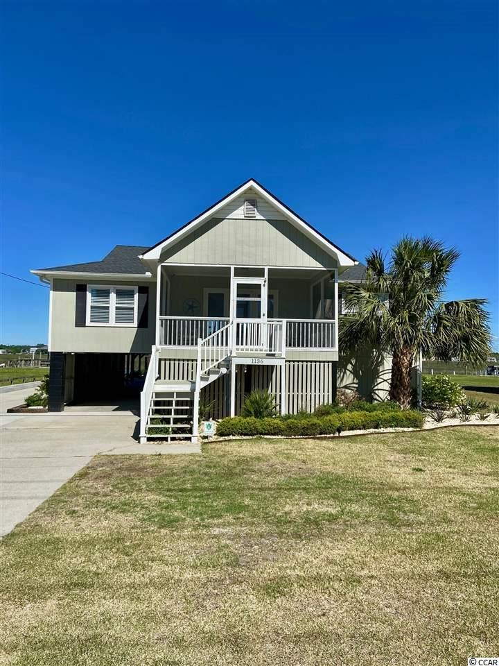 1136 Waccamaw Dr., Garden City Beach, SC, 29576, Not within a Subdivision Home For Sale