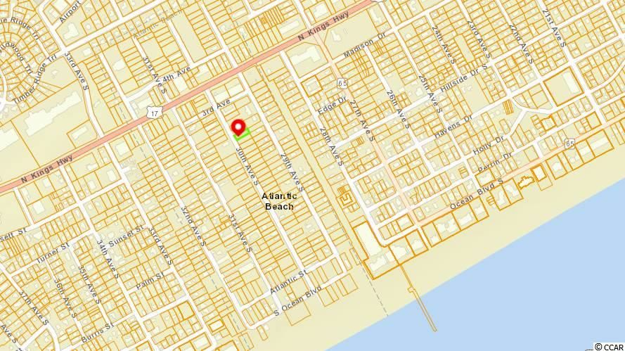 Lot 80 30th Ave. S, Atlantic Beach, SC, 29582, Not within a Subdivision Home For Sale