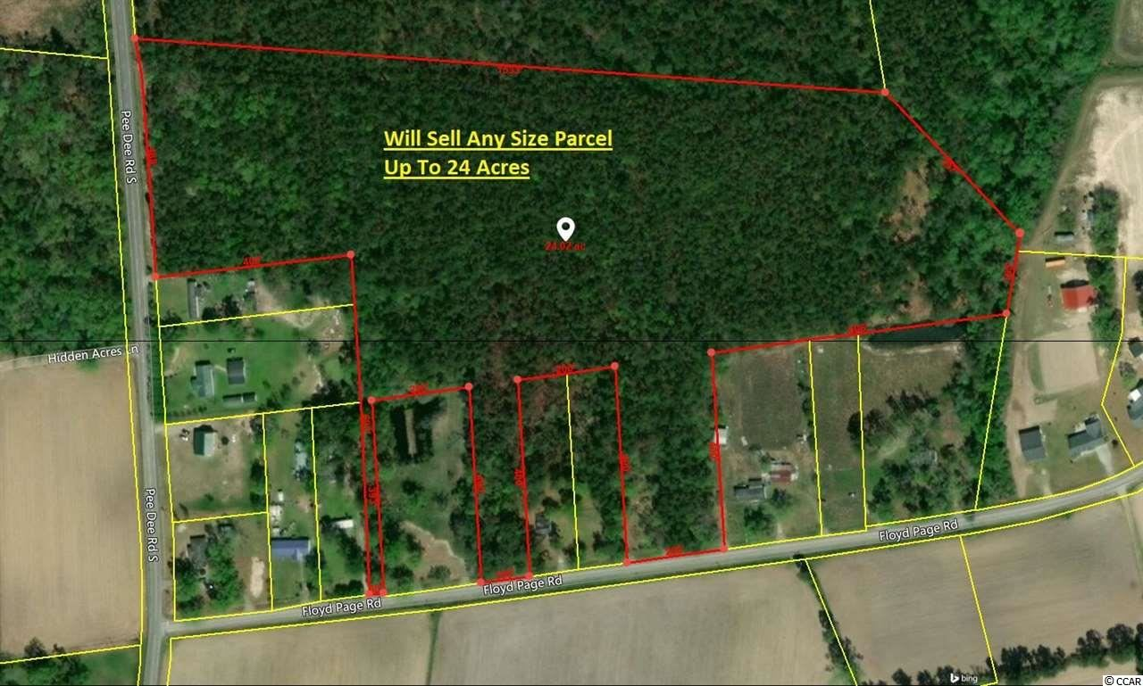 TBD 24acres Floyd Page Rd., Galivants Ferry, SC, 29544, Not within a Subdivision Home For Sale