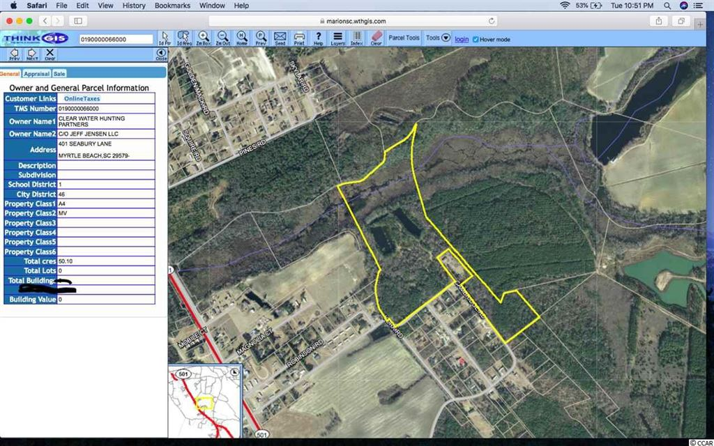 412 Aiken Rd., Sellers, SC, 29592, Not within a Subdivision Home For Sale