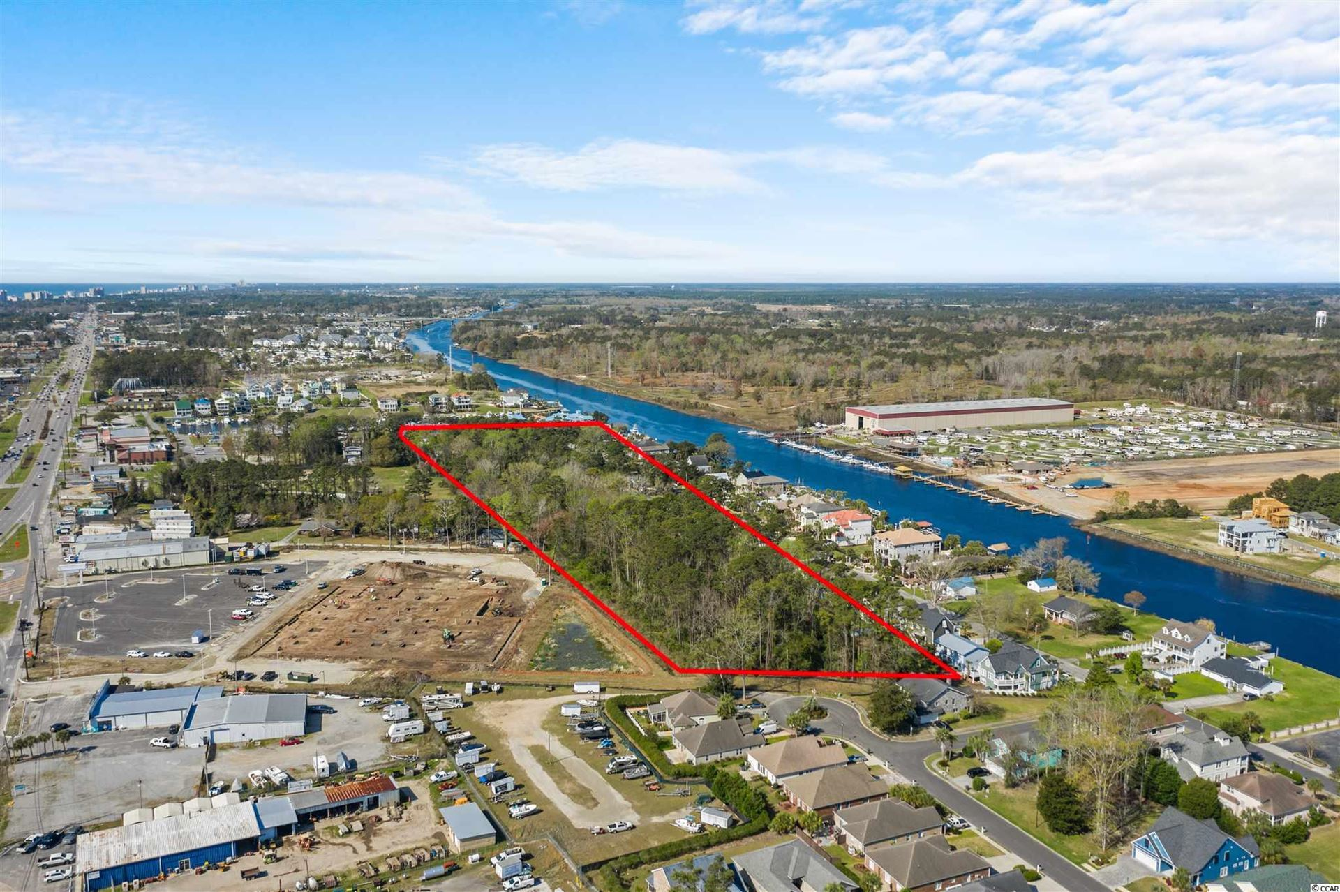 5.12 acres Cane St., North Myrtle Beach, SC, 29582, Not within a Subdivision Home For Sale