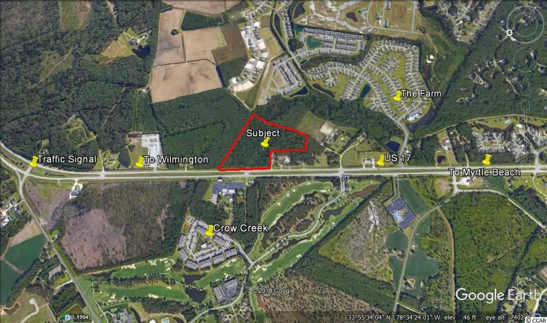 17.15 Acres Highway 17, Calabash, NC, 28467, Not within a Subdivision Home For Sale
