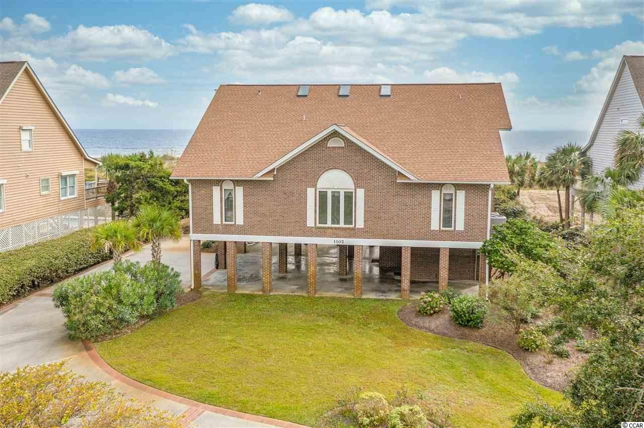 1102 N Ocean Blvd., North Myrtle Beach, SC, 29582, Tilghman Beach Home For Sale