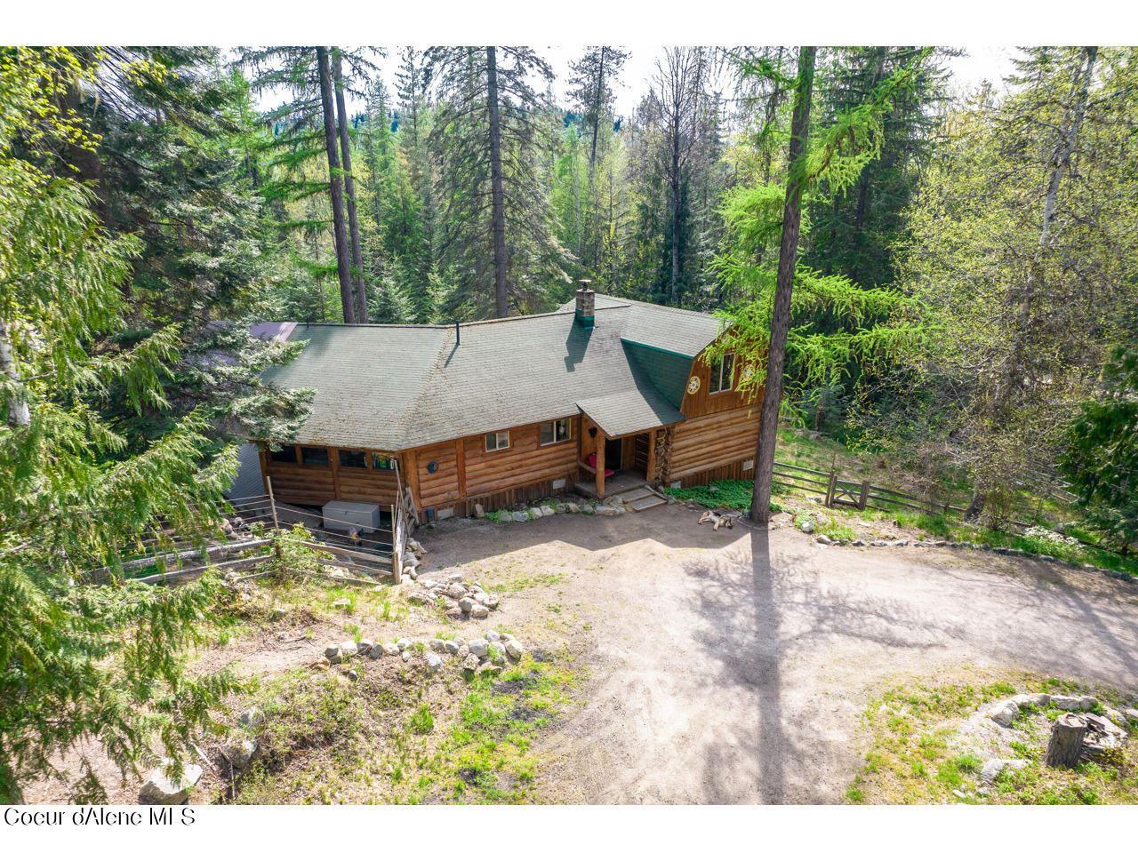 Photo of 3901 Upper Gold Creek Road, Sandpoint, ID 83864 (MLS # 21-4095)