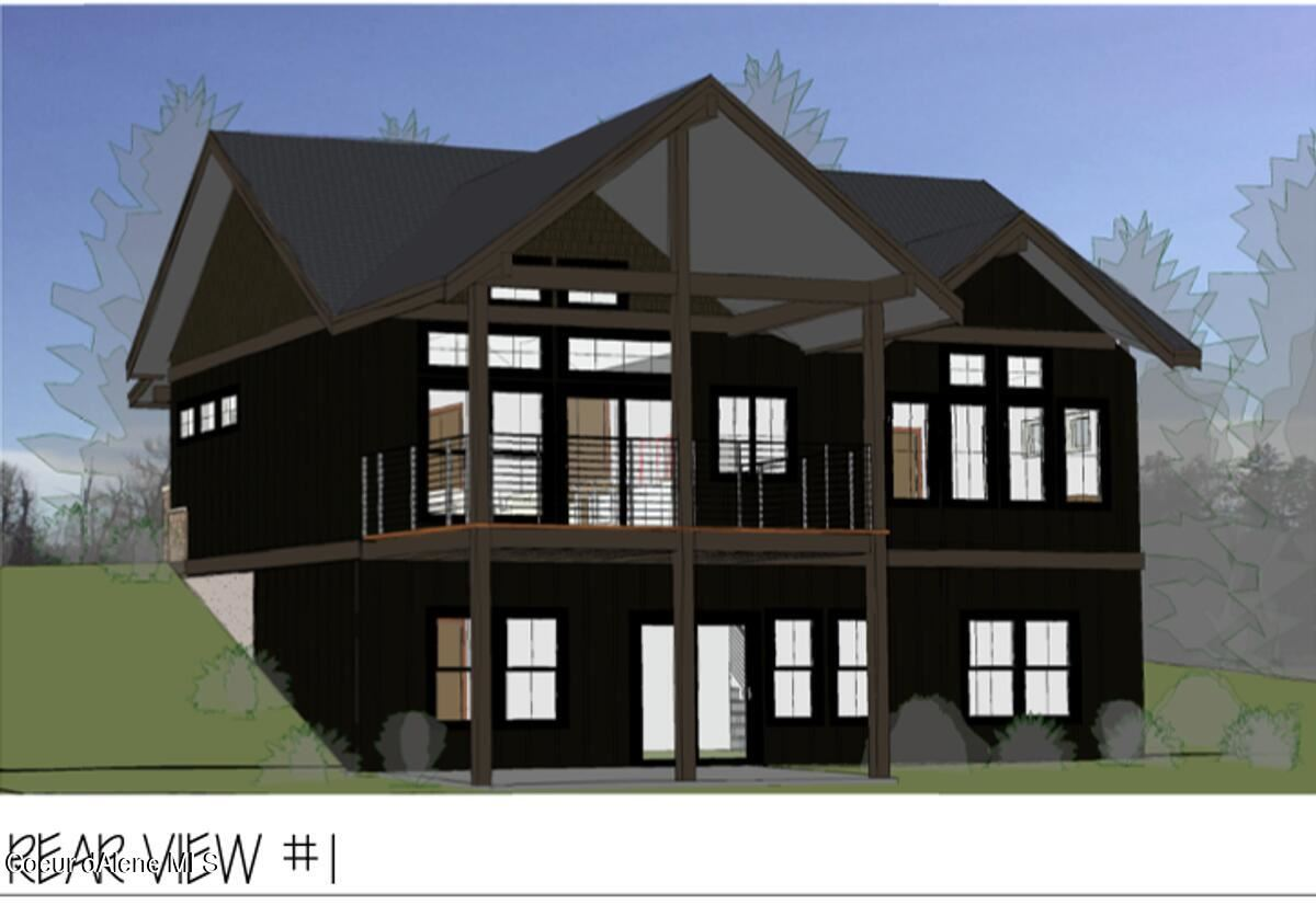 Photo of 133 White Cloud Drive, Sandpoint, ID 83864 (MLS # 21-10458)