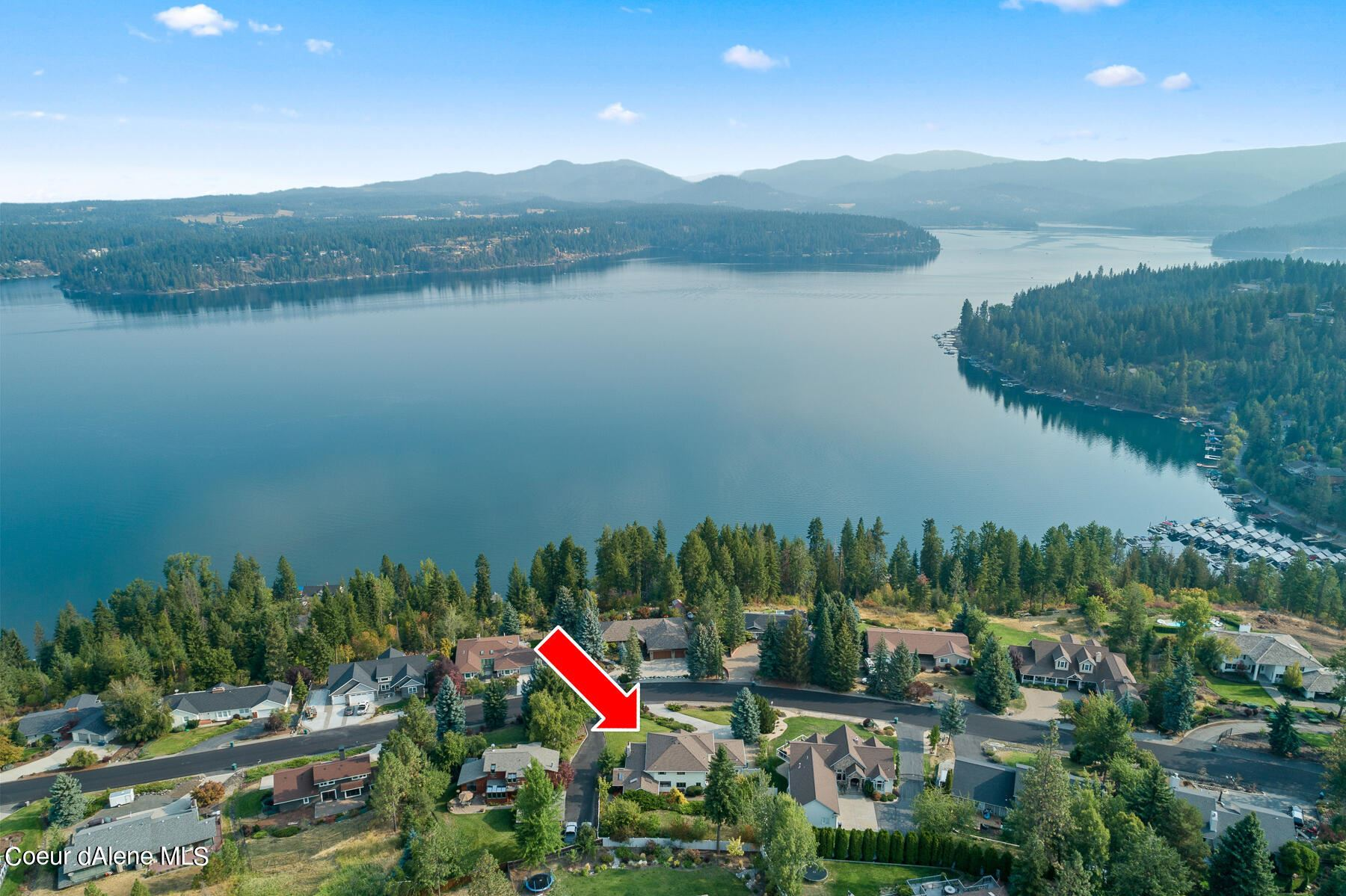 Photo of 3276 E Hayden View Dr, Coeur dAlene, ID 83815 (MLS # 21-9542)
