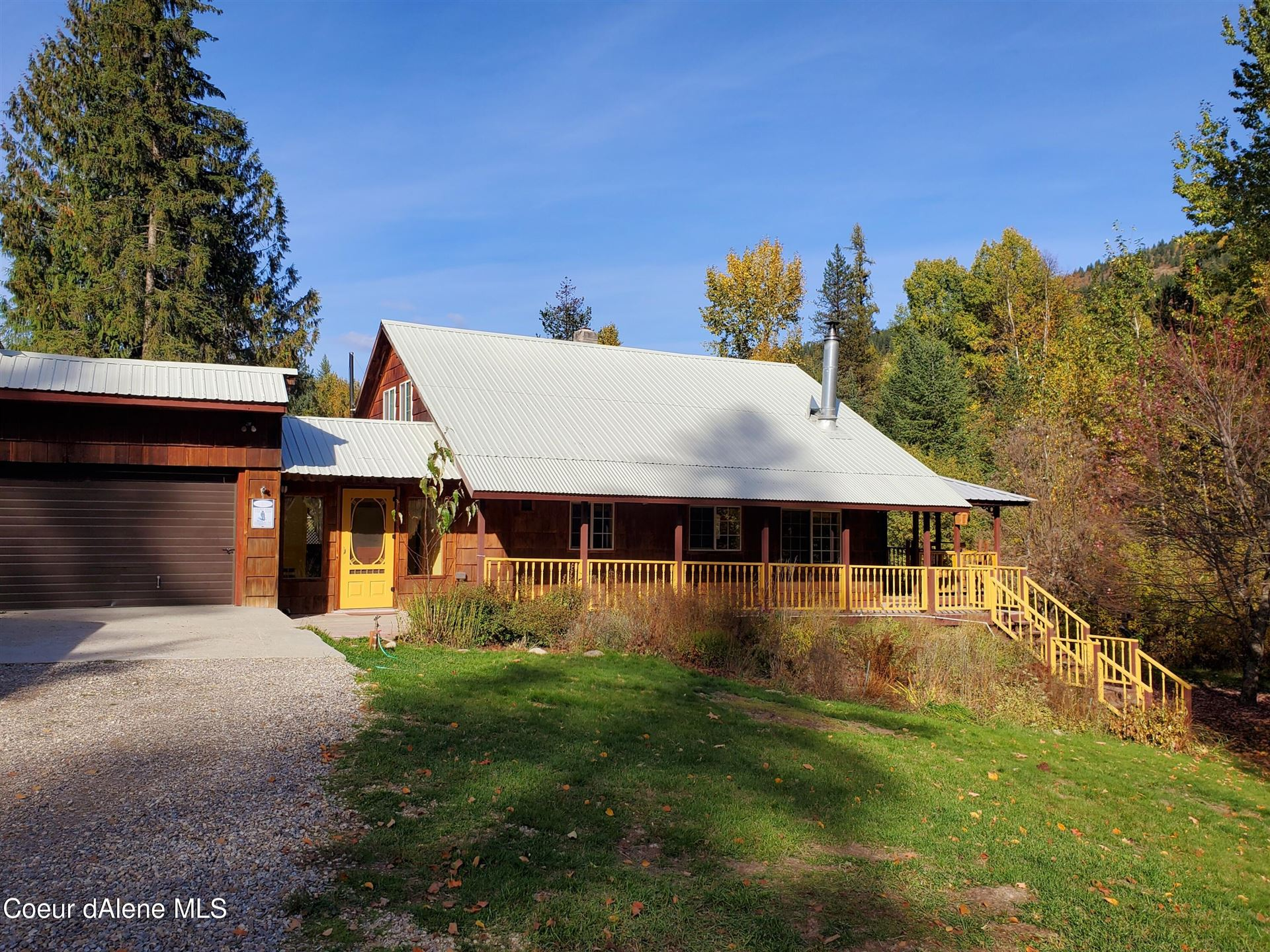 Photo of 7336 Upper Pack River Rd, Sandpoint, ID 83864 (MLS # 21-10560)