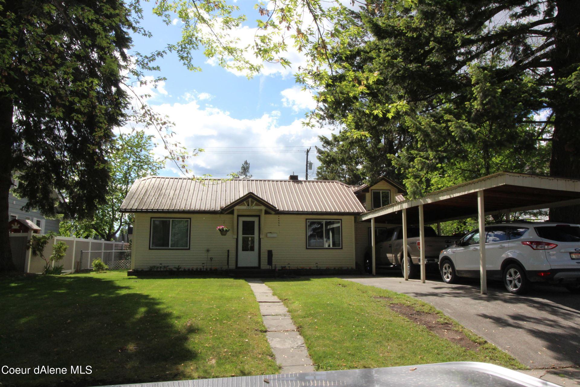 Photo of 1007 N 5TH ST, Coeur dAlene, ID 83814 (MLS # 21-4929)