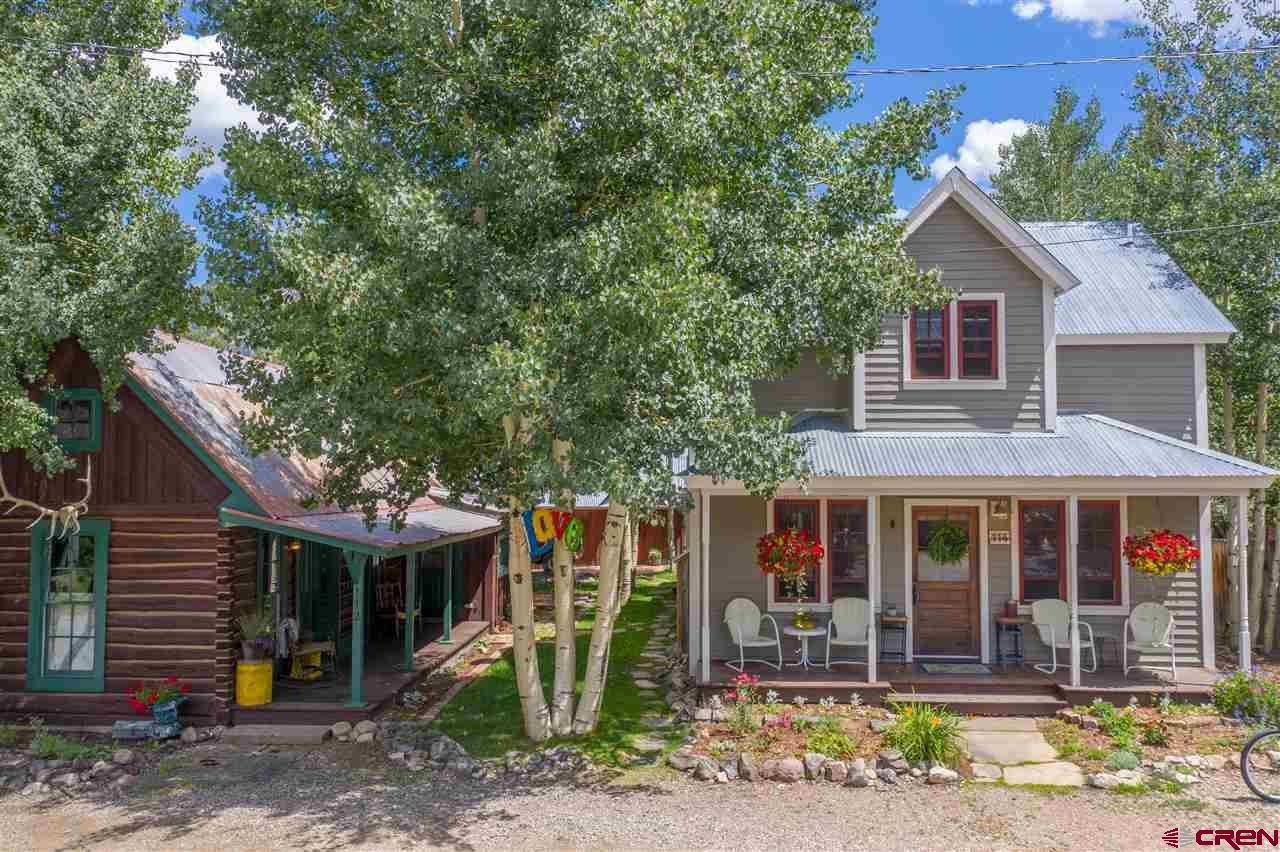 112 & 114 Second Street, Crested Butte, CO 81224 - #: 762035