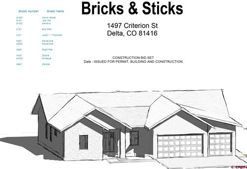 Photo of 1497 Criterion Street, Delta, CO 81416 (MLS # 783081)