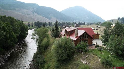 Photo of 76 County Road 740, Cement Creek, Crested Butte, CO 81224 (MLS # 778383)