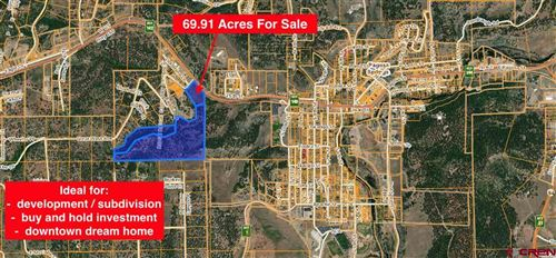 Photo of X Great West Avenue, Pagosa Springs, CO 81147 (MLS # 779458)