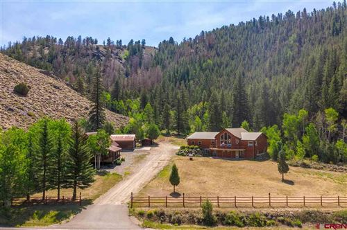 Photo of 1750 & 1810 County Rd. 742 Road, Almont, CO 81210 (MLS # 773699)