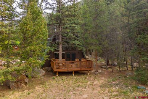 Photo of 120 Jolee Trail, Almont, CO 81210 (MLS # 774801)
