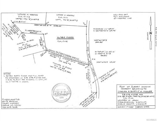 Tiny photo for 0000 Fowlkes Bridge Road, Amelia, VA 23002 (MLS # 1932802)