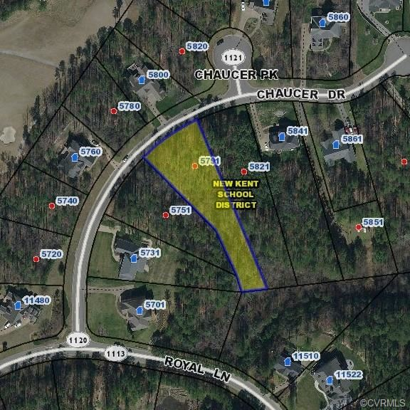 Photo for 5791 Chaucer Drive, Providence Forge, VA 23140 (MLS # 2000802)